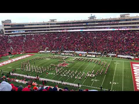 On Wisconsin Halftime & Finale - University of Wisconsin Marching Band 4k/60fps 11.18.17