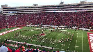 On Wisconsin Halftime Finale University Of Wisconsin Marching Band 4k 60fps 11 18 17