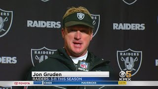 Raiders Post-Game: Coach Gruden Addresses the Media