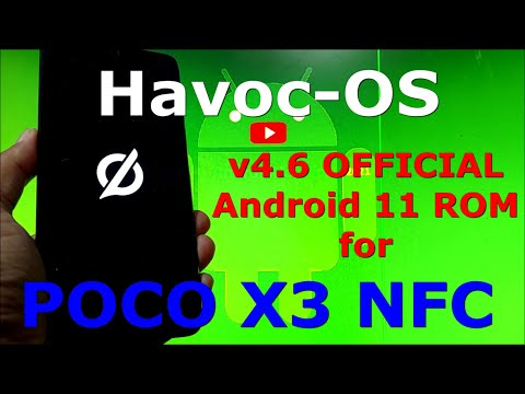 Havoc-OS v4.6 OFFICIAL for Poco X3 NFC ( Surya ) Android 11