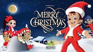 Chhota Bheem - Christmas Party with Team Bheem | Santa's Christmas Special Gift | Fun Kids Videos