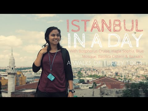 Istanbul In A Day with Bosphorus Cruise, Hagia Sophia, Blue Mosque & Basilica Cistern