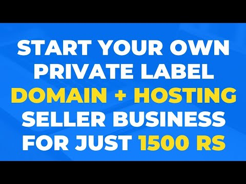 How to start domain hosting reseller business
