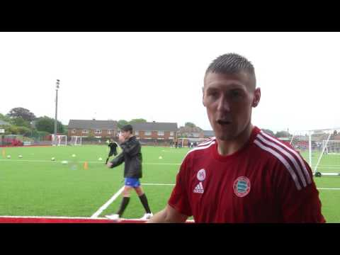 Tommy Elphick in attendance as Worthing FC Launch new Development Academy