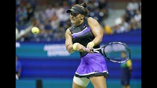Bianca Andreescu vs Elise Mertens | US Open 2019 Quarter-Finals Highlights