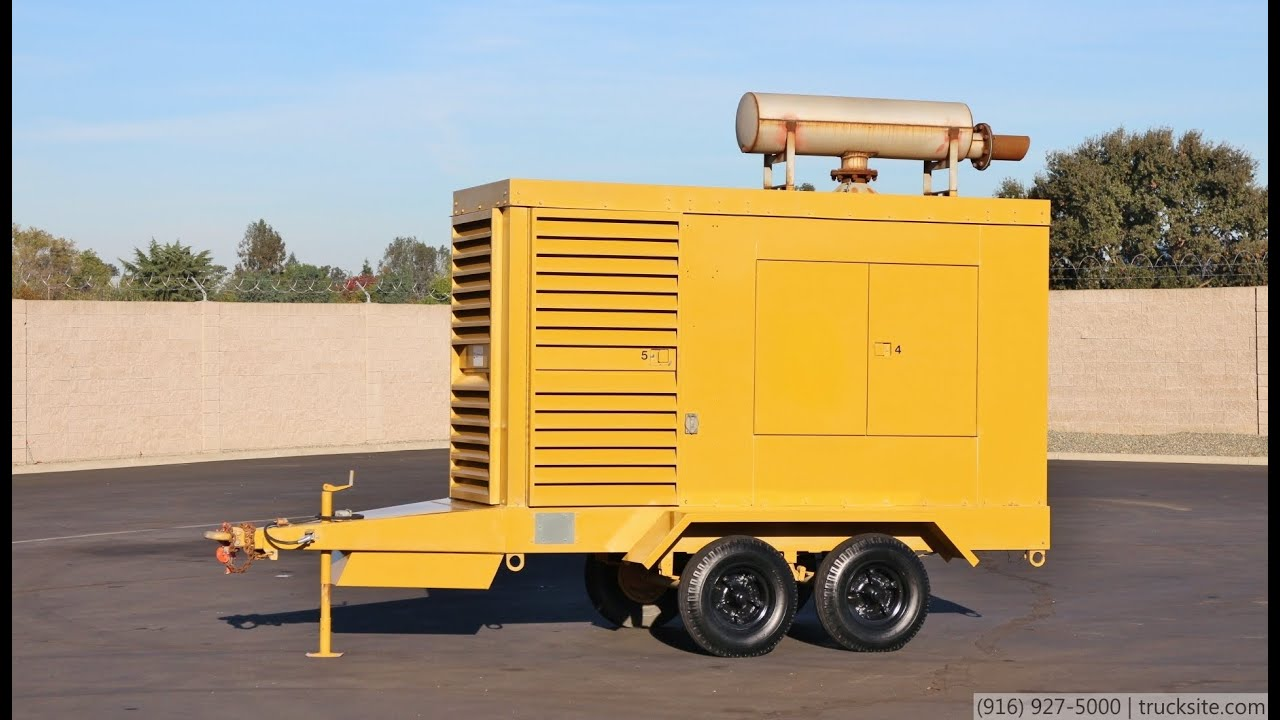 Caterpillar SR 4 250KW Diesel Generator