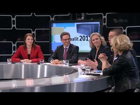 Suuri vaalikeskustelu 2011.04.06 MTV3