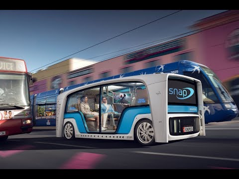 Rinspeed Snap, Self driving Cars - Unravel Travel TV