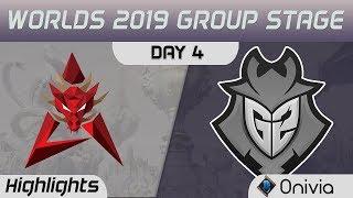 HKA vs G2 Highlights Worlds 2019 Main Event Group Stage Hong Kong Attitude vs G2 Esports by Onivia