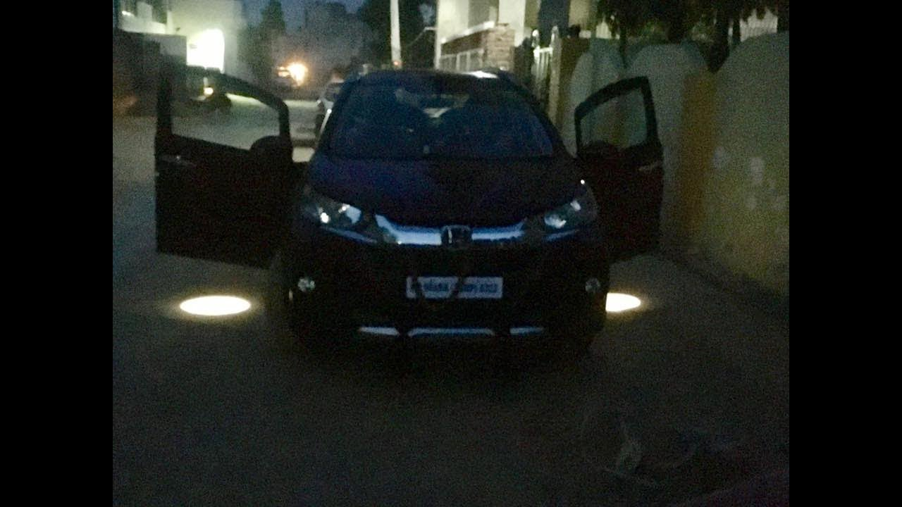 Honda WRV With Puddle Lamps | Honda WRV Accessories | WR-V Logo Projector - YouTube