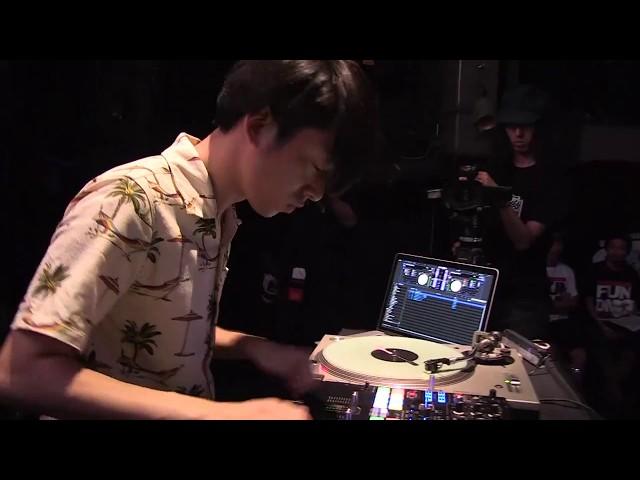 DJ 松永 3rd place - DMC JAPAN DJ  CHAMPIONSHIP 2017 FINAL supported by Technics
