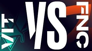 VIT vs. FNC - Week 4 Day 1   LEC Spring Split   Vitality vs. Fnatic (2020)