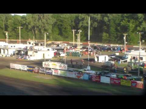 Stock Car Heat 1 @ Hamilton County Speedway 07/09/16