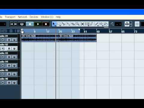 recording tutorial nuendo 4