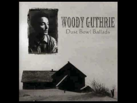 Woody Guthrie - Talkin' Dust Bowl Blues.AVI