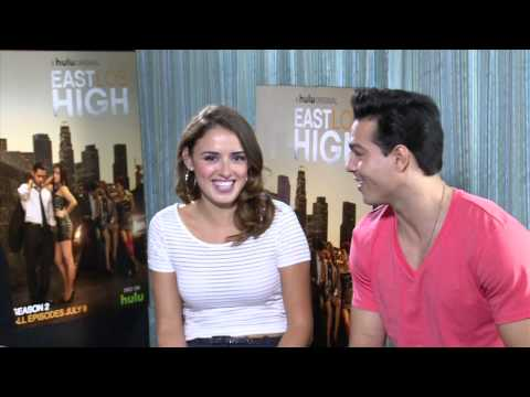 Vannessa Vasquez and Ray Diaz talk East Los High Season 3