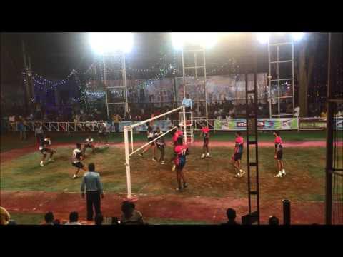 Karnataka state volley league : BSNL Team vs Karnataka Postal team volleyball match