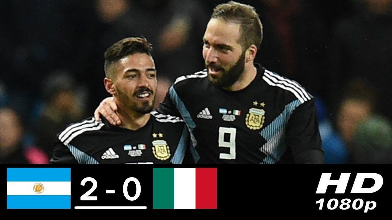 Argentina vs Italy 2-0 • All Goals and Highlights • International Friendly Match • 2018 HD - YouTube