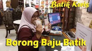 Shopping Borong Baju di Batik Keris Grand City Mall Surabaya