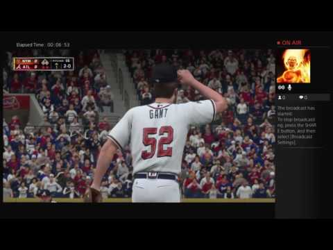 MLB The Show 16 Play Now | New York Mets @ Atlanta Braves!!