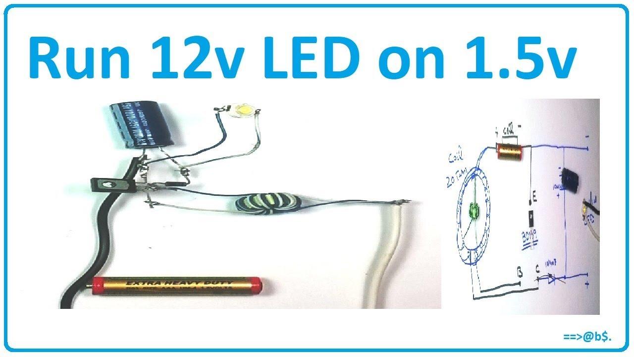 circuitdiagram toroid led [ 1280 x 720 Pixel ]