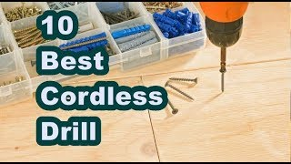 ✅Top 10 Best Cordless Drill Reviews