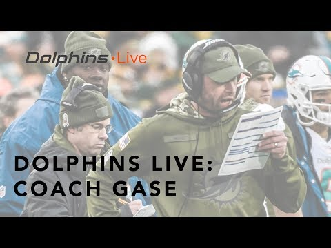 Coach Gase on needing four quarters of consistent football | Miami Dolphins