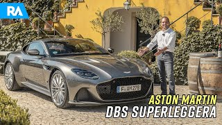 Aston Martin DBS Superleggera (725 cv). O MAIS POTENTE do canal