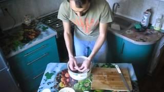 Шашлык в кефирном маринаде