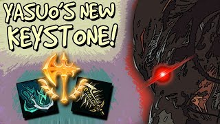 YASUO HAS THE PERFECT KEYSTONE RUNE NOW! CONQUEROR YASUO MID - PATCH 8.6 [League of Legends]