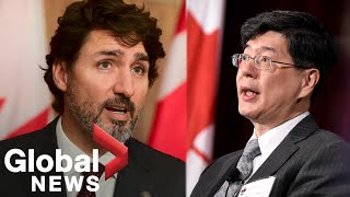 """Trudeau says Canada will not stop calling out China for """"coercive diplomacy"""""""