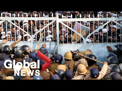 Protests Over India Citizenship Law Continue For Sixth Day