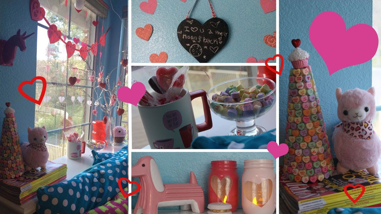 5 Diy Valentine S Day Decorations Youtube