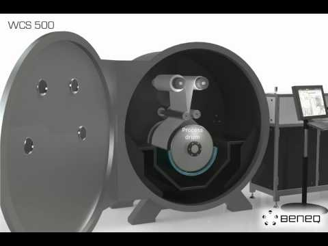 Beneq WCS 500 Roll-to-Roll ALD system for flexible substrates.avi