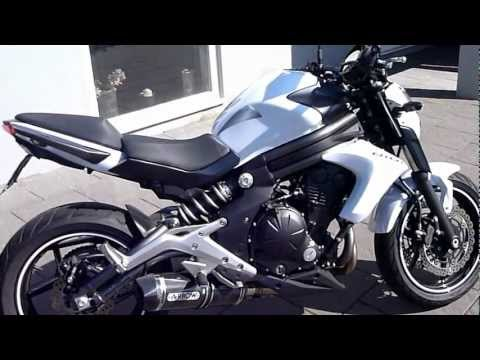 Kawasaki ER6N 2012 fitted with Arrow full exhaust system (incl headers)