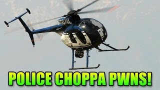 Battlefield Hardline Police Helicopter Owns All (Double Vision Feat Matimi0)