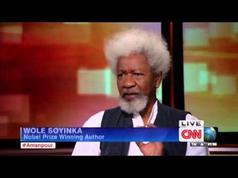 Wole Soyinka speaks out on CNN