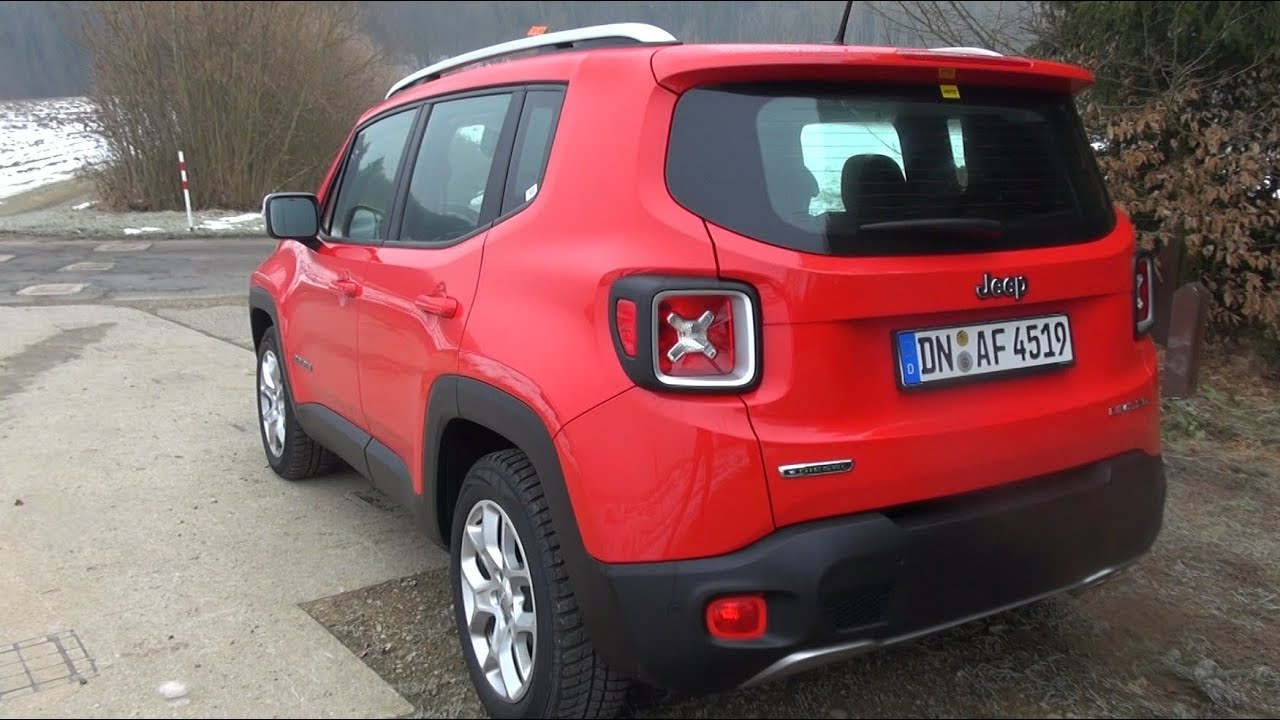 2015 jeep renegade 1 6l multijet2 diesel 120 hp test drive youtube. Black Bedroom Furniture Sets. Home Design Ideas