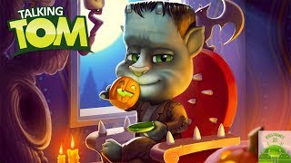 My Talking Tom Gameplay - NEW Update Halloween - Great Makeover 2017