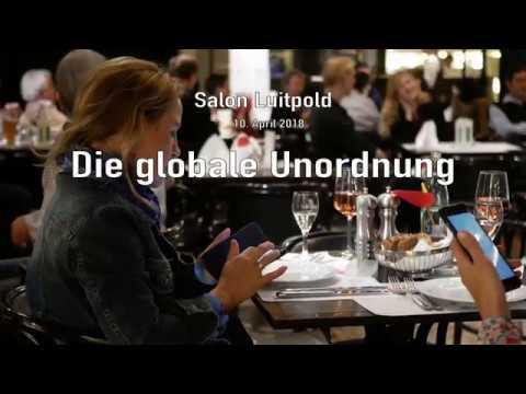 Salon Luitpold - Die globale Unordnung mit Rainer Hank, Stephan Lessenich und Prof. Karsten Fischer