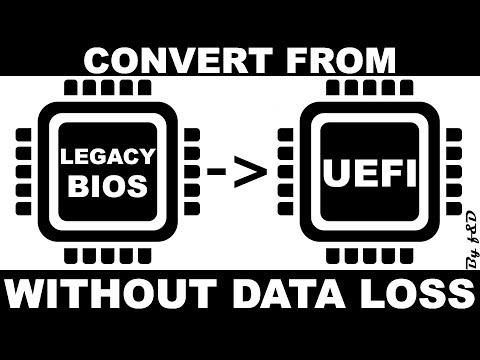Convert Legacy To UEFI Windows 10 Without Data Loss || Legacy BIOS To UEFI Without Data Loss
