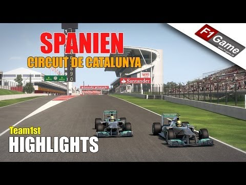 F1 2013 - F1-Game.de League - Catalunya