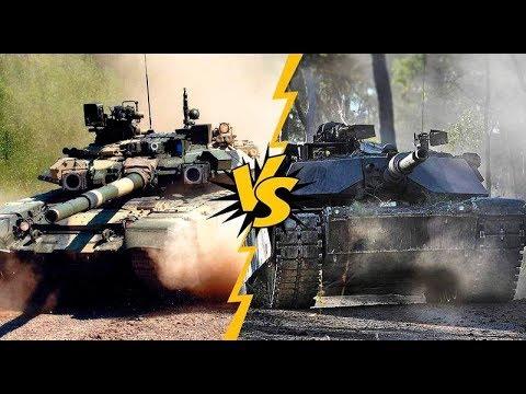 Белорусский Т-72 против Абрамса !!!