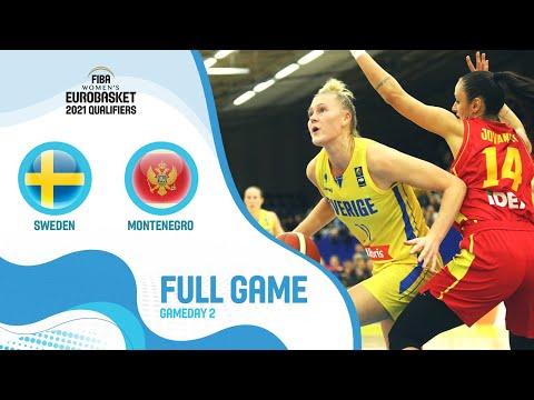 Sweden v Montenegro - Full Game- FIBA Women's EuroBasket Qualifiers 2021