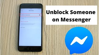 How to Unblock Someone Facebook Messenger (2020)
