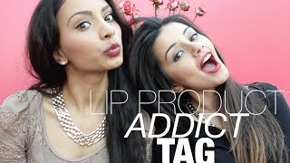 Lip Product Addict TAG Ft. RougeRosePetale | Kaushal Beauty Thumbnail