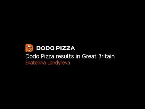 Dodo Pizza Results In Great Britain. Ekaterina Landyreva. January 20, 2020