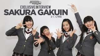 Sakura Gakuin Exclusive Interview with Japanese Station