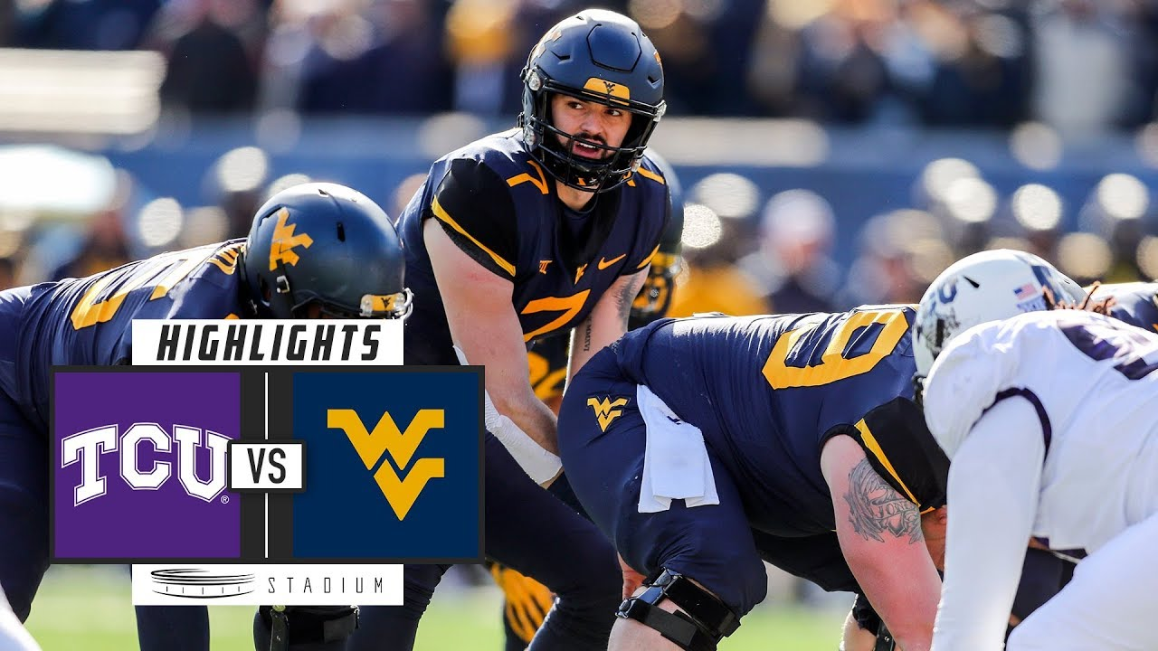 Tcu Vs No 9 West Virginia Football Highlights 2018 Stadium