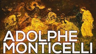 Adolphe Monticelli: A collection of 199 paintings (HD)